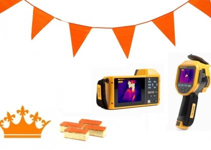 Nieuwsbrief Koningsdag + Fluke TI480 + TiX580