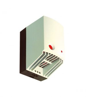 ECR / Ventilatorverwarming met thermostaat